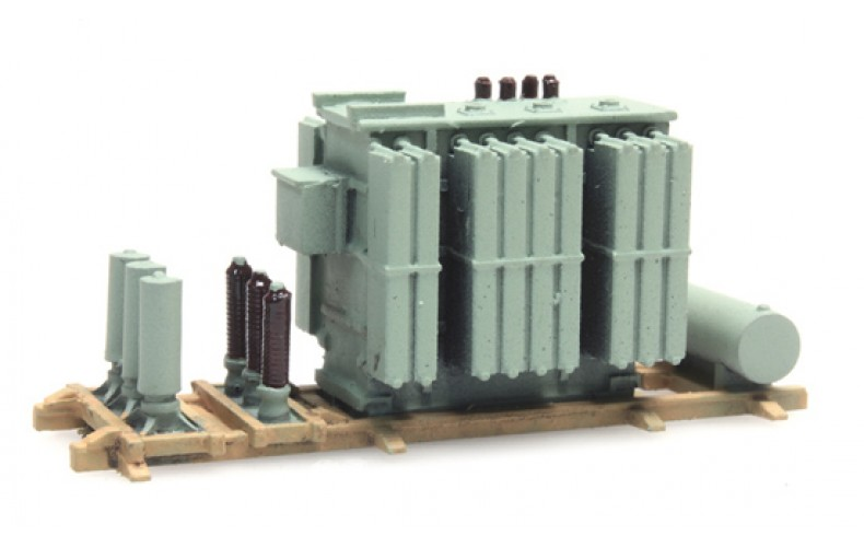 316066 Painted AEC Transformer Load ( N scale 1/160th)